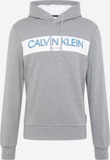 Calvin Klein Sweatshirt in de kleur Blauw / Grijs gemêleerd / Wit, Productweergave