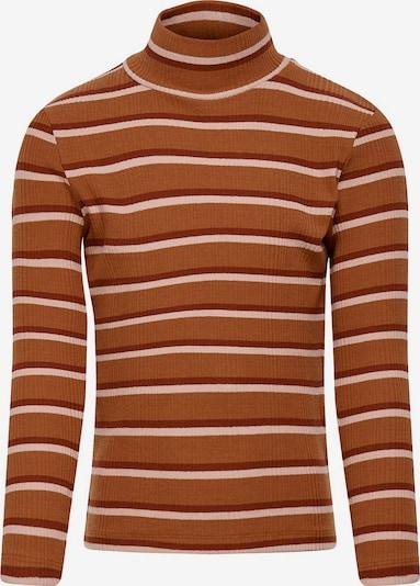 KIDS ONLY Shirt 'Konelina' in braun / weiß, Produktansicht