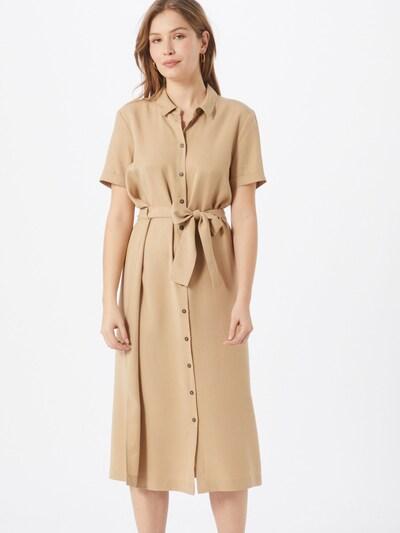 OBJECT Kleid 'ISABELLA' in beige, Modelansicht