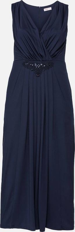 Sheego style Abendkleid in marine  Neue Kleidung in dieser Saison