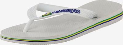 HAVAIANAS Teenslippers in de kleur Wit, Productweergave