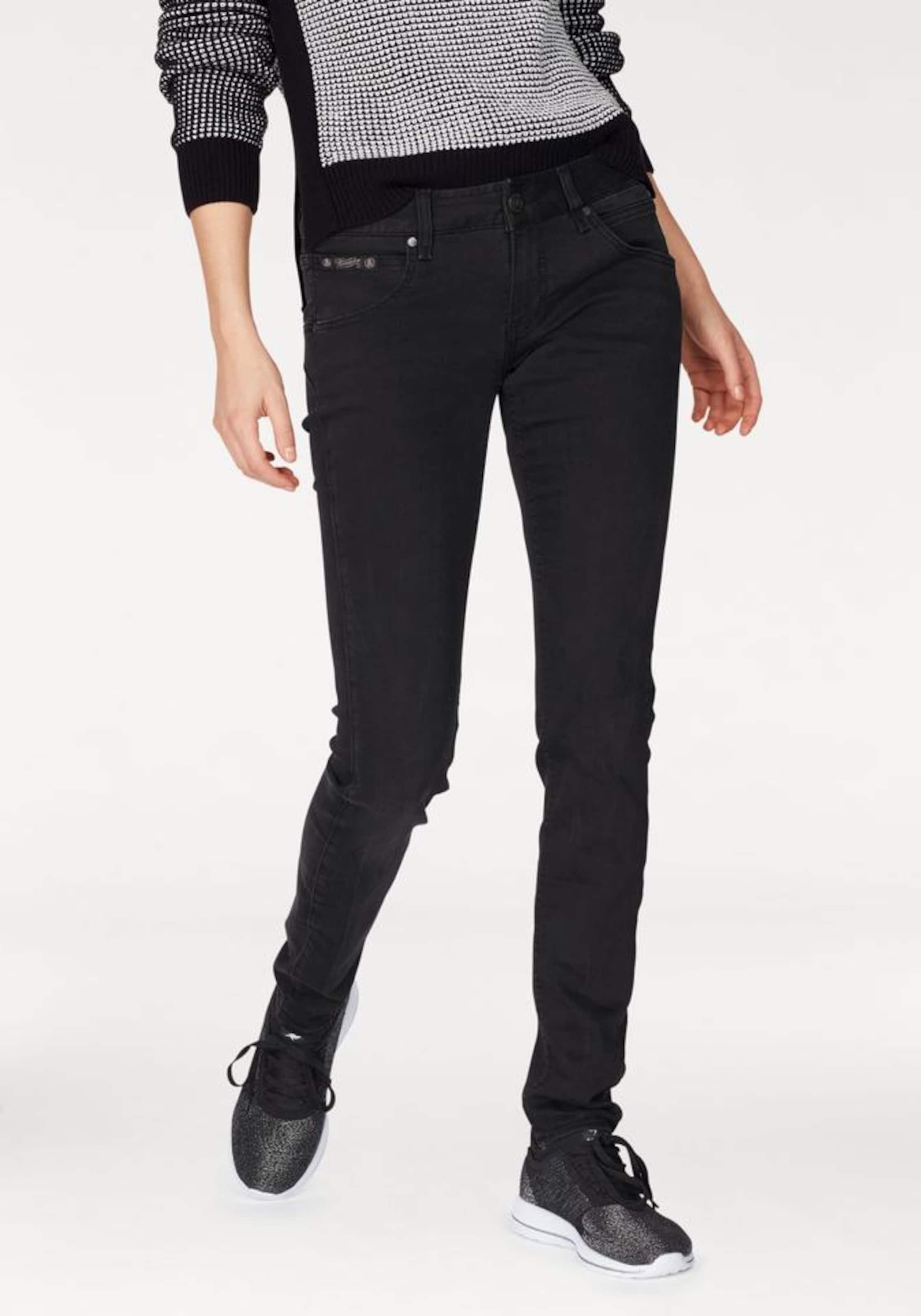 Jeans Herrlicher In Black Denim 'touch' kPZiuX