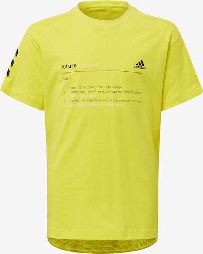 ADIDAS PERFORMANCE Shirt in gelb: Frontalansicht