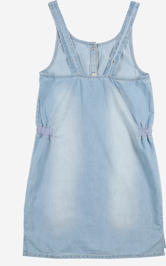 ESPRIT Kleid mit Druckkopf-Details in blue denim: Rückansicht