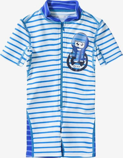 HYPHEN Schwimmanzug in blau / weiß, Produktansicht
