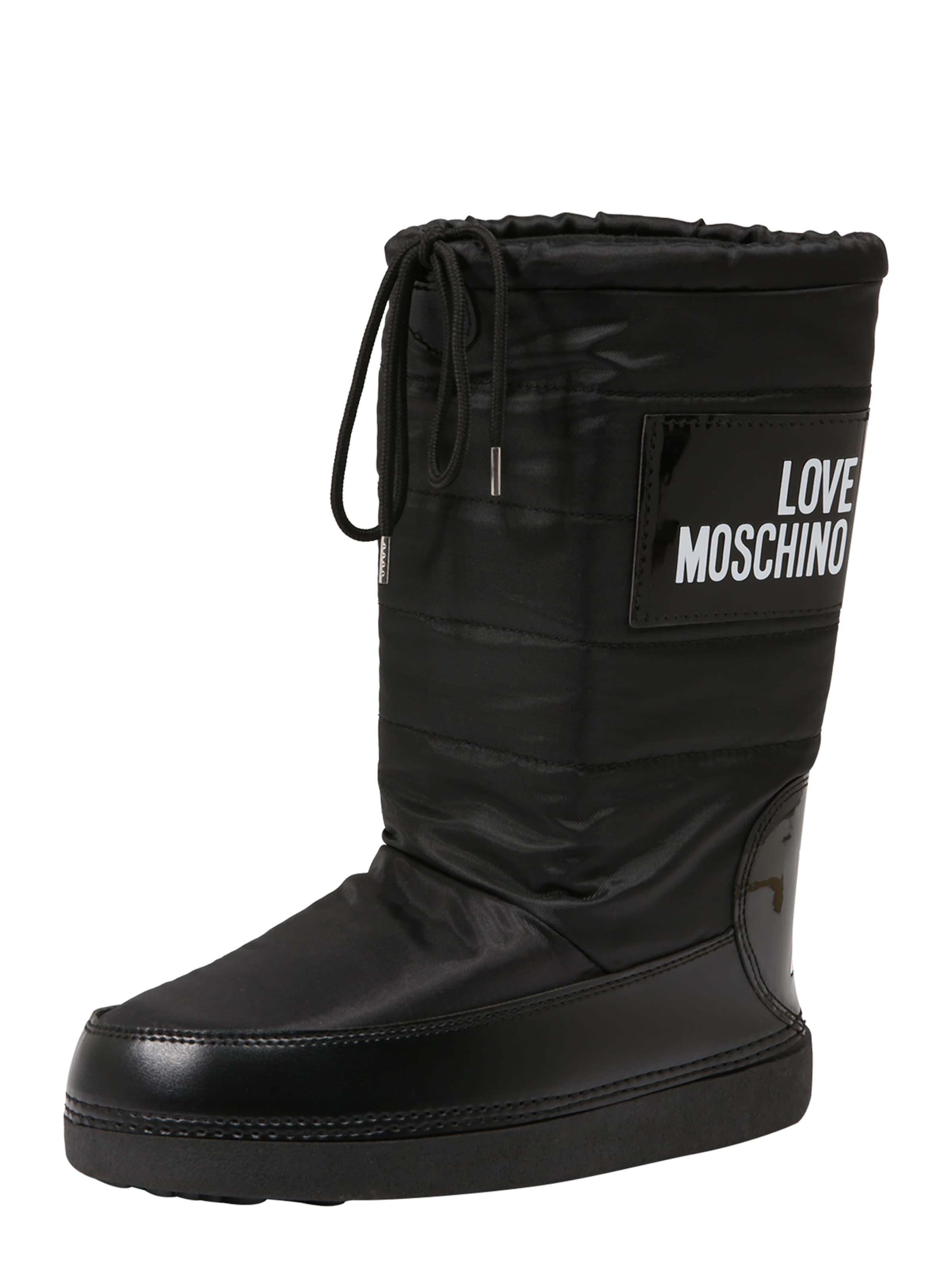 Boot' Stiefel Schwarz Moschino 'ski Love In PkNnw80OX