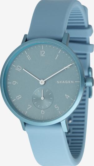 SKAGEN Uhr 'AAREN' in hellblau, Produktansicht