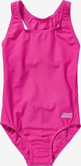 Zoggs Badeanzug in pink, Produktansicht