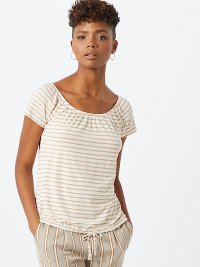ABOUT YOU T-Shirt 'Mimi' in beige: Frontalansicht