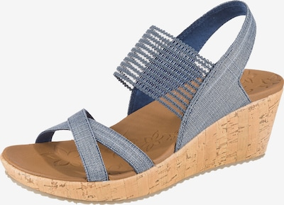 SKECHERS Sandalette 'Beverlee High Tea' in taubenblau, Produktansicht