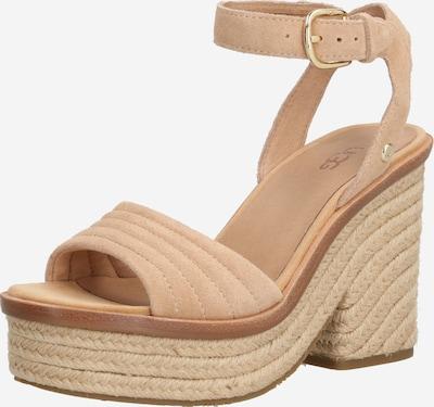 UGG Sandalen met riem 'LAYNCE' in de kleur Beige / Brons, Productweergave