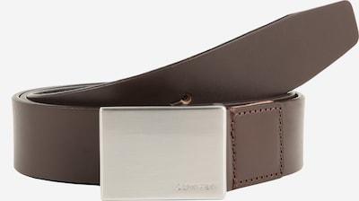 Calvin Klein Ledergürtel 'FORMAL PLAQUE' in braun, Produktansicht