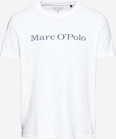 Marc O'Polo Shirt in dunkelgrau / weiß, Produktansicht