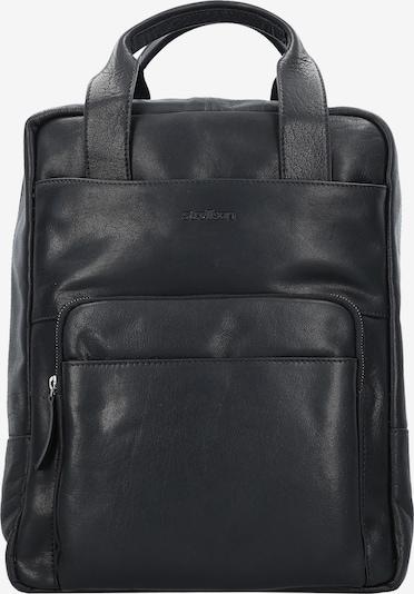STRELLSON Coleman 2.0 Business Rucksack Leder 40 cm Laptopfach in schwarz, Produktansicht