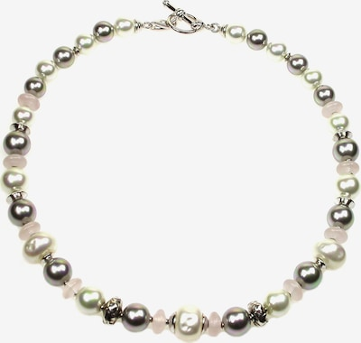 Orquidea Perlenkette 'Ariadne' in grau, Produktansicht
