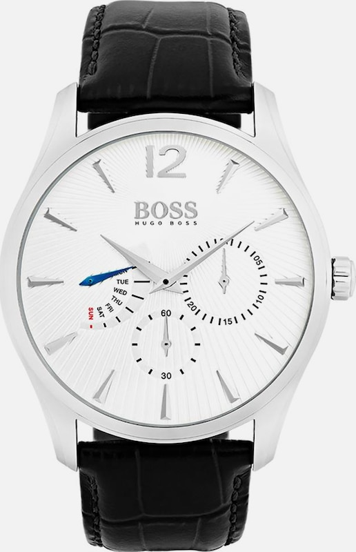 BOSS Boss Multifunktionsuhr »COMMANDER CLASSIC, 1513491«