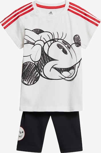 ADIDAS PERFORMANCE Sportanzug in rot / schwarz / weiß, Produktansicht