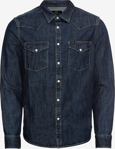 Lee Hemd 'WESTERN' in blue denim, Produktansicht