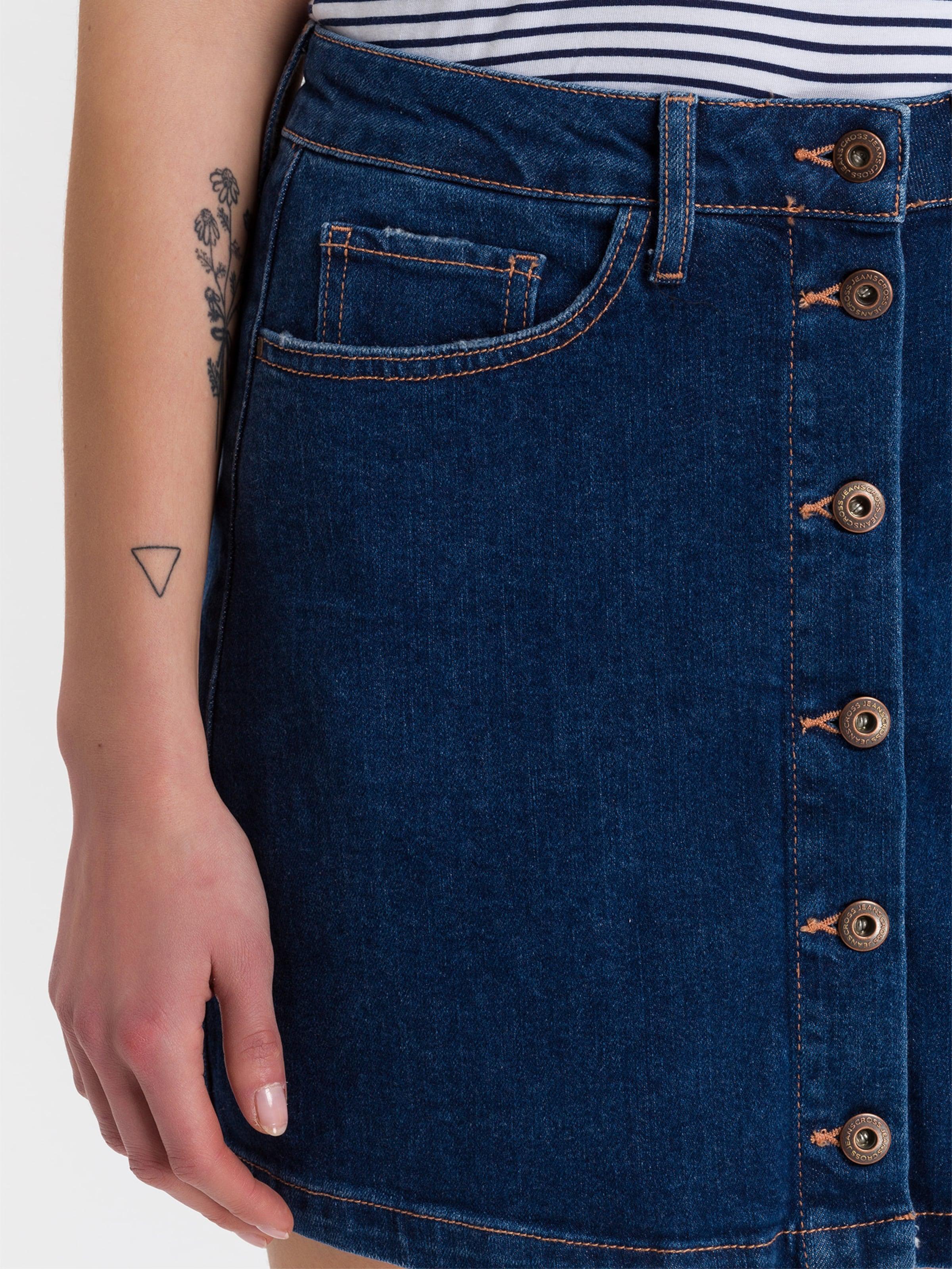 In Cross Jeans Denim Blue 'tracy' Rock xQWCrdBoe