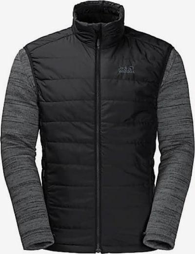 JACK WOLFSKIN Jacke in grau / schwarz, Produktansicht