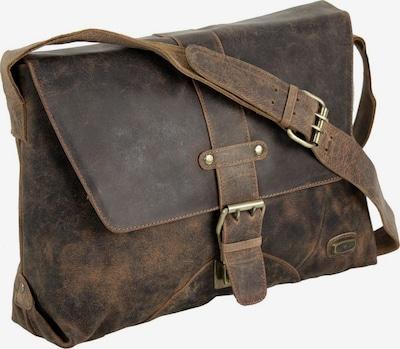 Harold's Aktentasche in dunkelbraun, Produktansicht