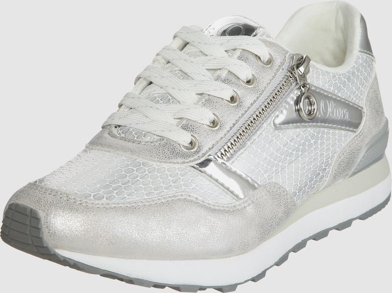 s.Oliver RED LABEL Sneaker im Metallic-Look