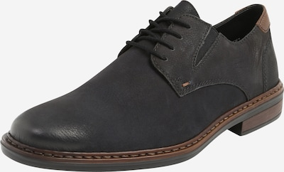 RIEKER Lace-up shoe in brown / black, Item view