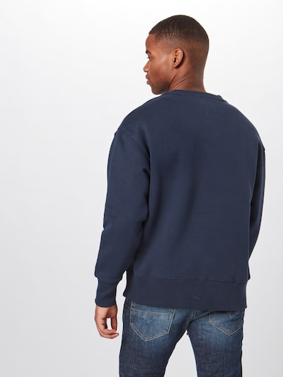 Megztinis be užsegimo iš Tommy Jeans , spalva - tamsiai mėlyna: Vaizdas iš galinės pusės
