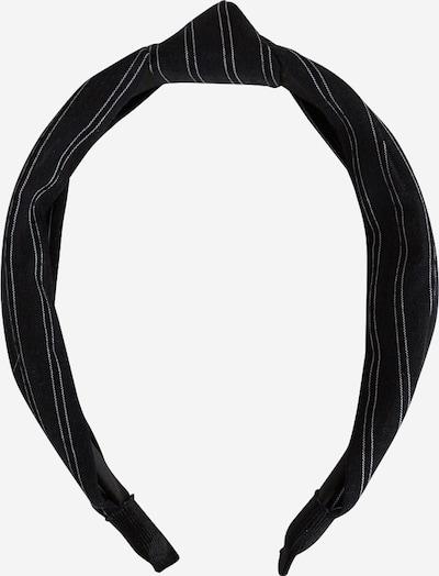 EDITED Ornement pour cheveux 'Tenea' en noir / blanc, Vue avec produit