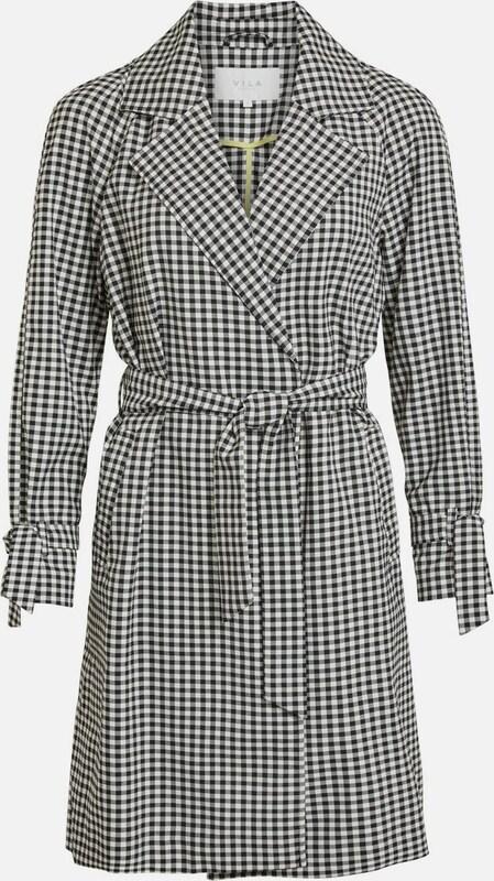 VILA Trenchcoat in schwarz   weiß  Neue Kleidung in dieser Saison
