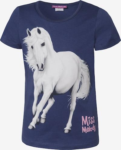 Miss Melody T-Shirt in marine / weiß, Produktansicht