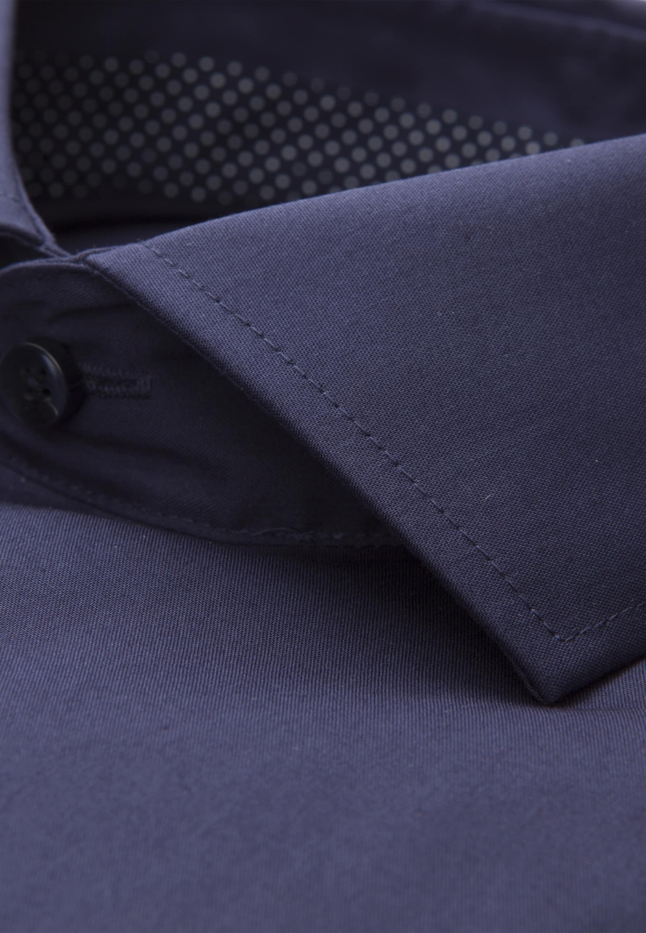 Business Foncé 'tailored' Seidensticker Chemise En Bleu H2WE9ID