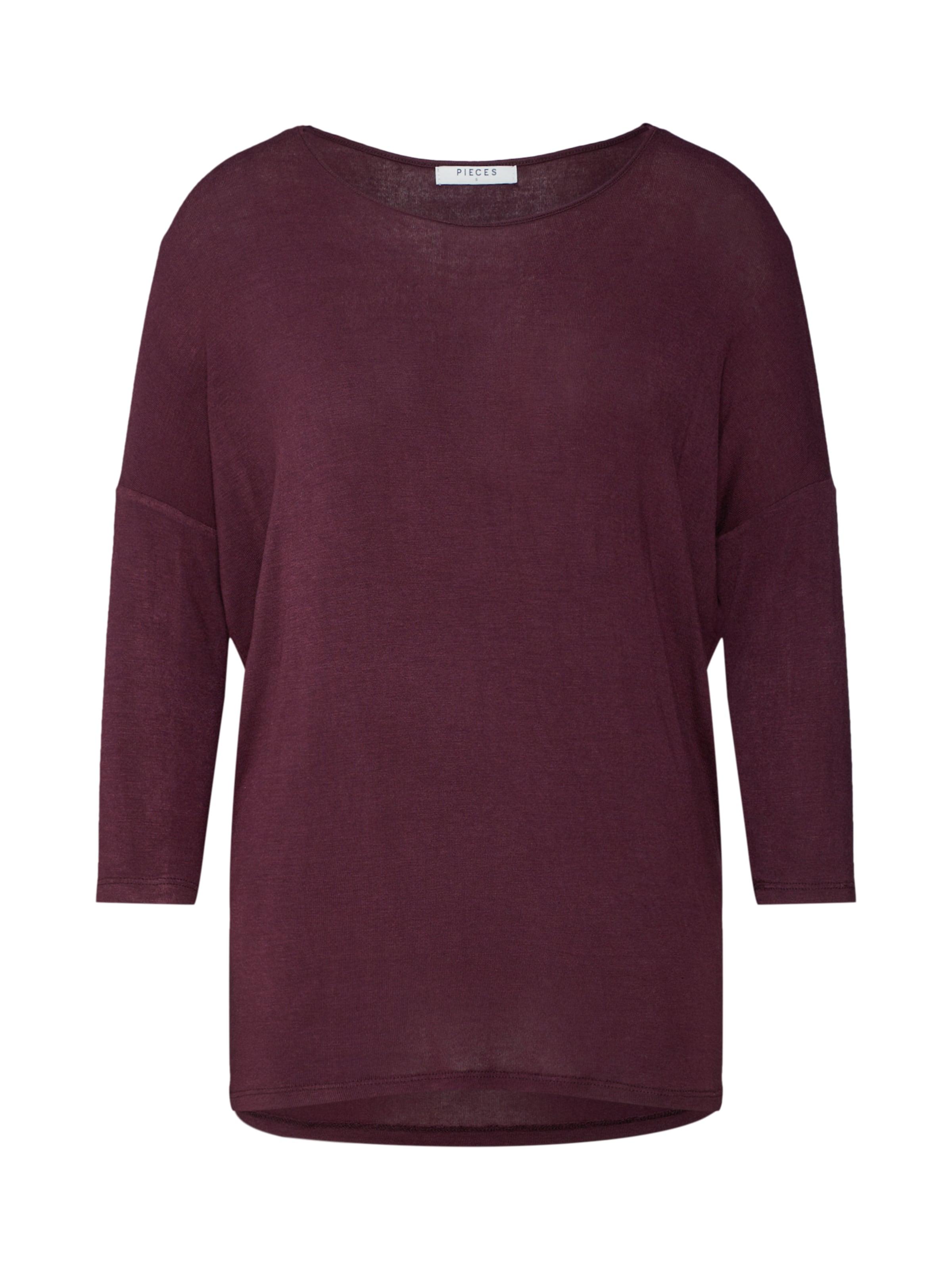 'pcmusthave En Bordeaux shirt Noos' T Oversize Pieces tdBshQrCx