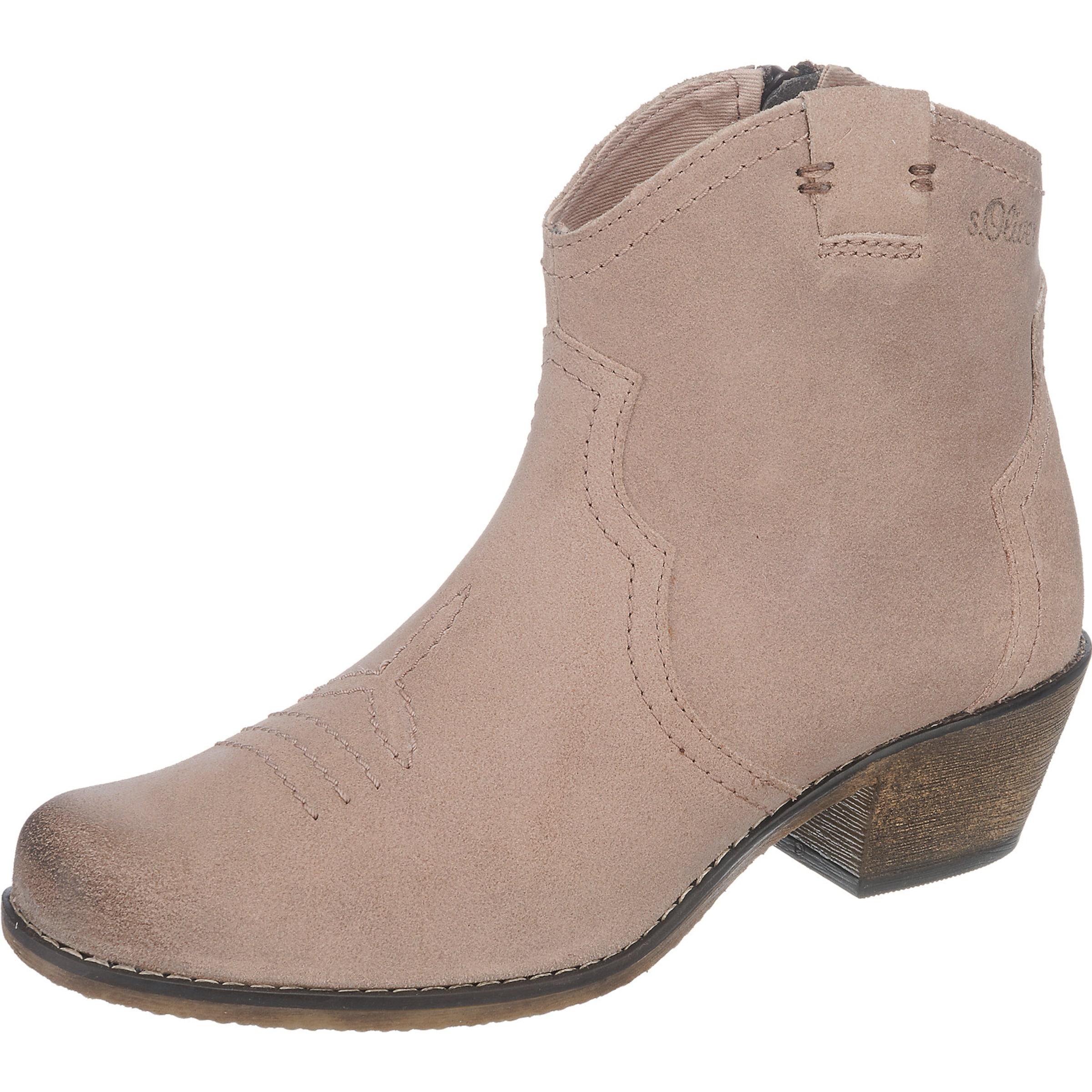 s.Oliver RED LABEL Westernstiefelette Verschleißfeste billige Schuhe