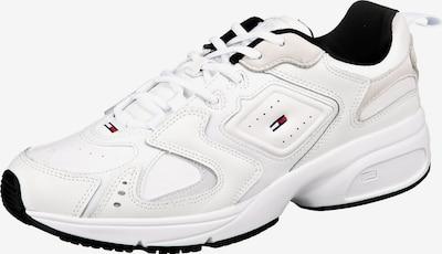 Tommy Jeans Baskets basses 'Heritage' en noir / blanc, Vue avec produit