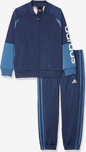 ADIDAS PERFORMANCE Trainingsanzug in blau / himmelblau / weiß, Produktansicht