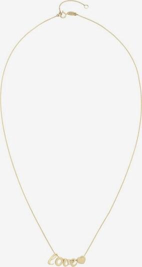 AMOR Kette 'Love/Herz' in gold, Produktansicht