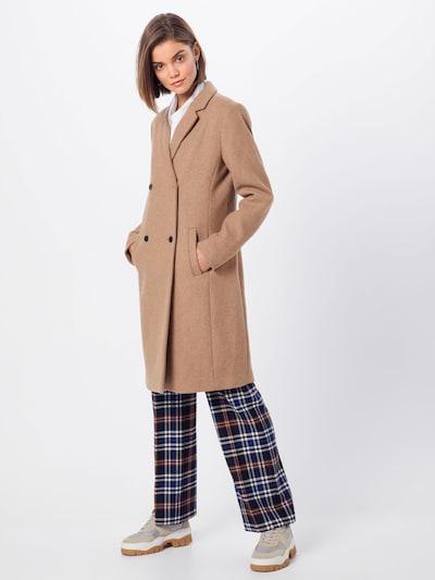Palton de primăvară-toamnă 'Odelia' modström pe bej, Vizualizare model