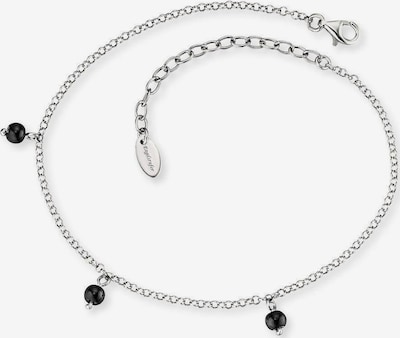 Engelsrufer Fußkette 'Erf-Lilgb' in schwarz / silber, Produktansicht