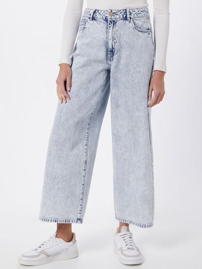 Noisy may Jeans 'ANNA' in blue denim, Modelansicht