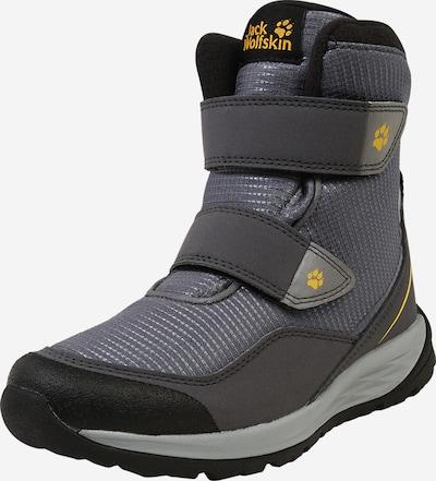 JACK WOLFSKIN Ležerne čizme 'POLAR BEAR' u žuta / siva / antracit siva, Pregled proizvoda