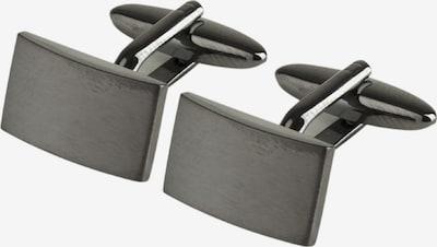 SEIDENSTICKER Manschettenknöpfe 'Seidensticker' in grau, Produktansicht