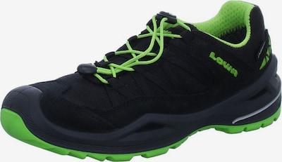 LOWA Sportschuhe in limette / schwarz, Produktansicht