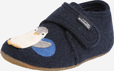 Living Kitzbühel Slipper 'Eisbär' in dark blue, Item view
