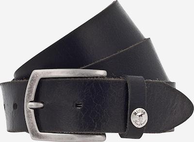MUSTANG Gürtel in schwarz / silber, Produktansicht