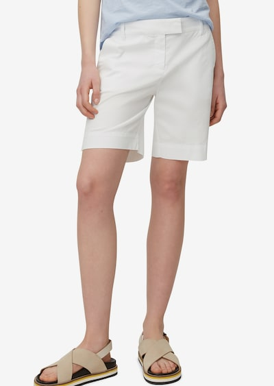Marc O'Polo Shorts in weiß, Modelansicht