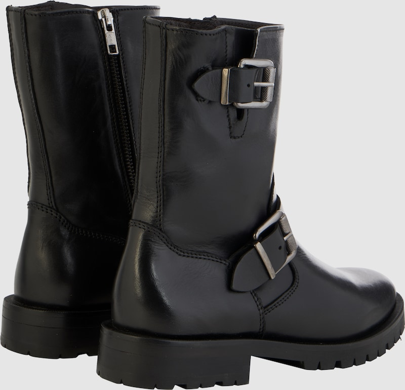 Billi Bi Biker Boots Made Of Leather