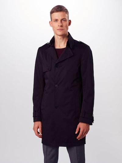 DRYKORN Manteau mi-saison 'SKOPJE' en noir, Vue avec modèle