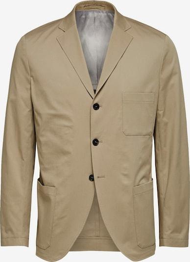 SELECTED HOMME Slim Fit Blazer in beige: Frontalansicht