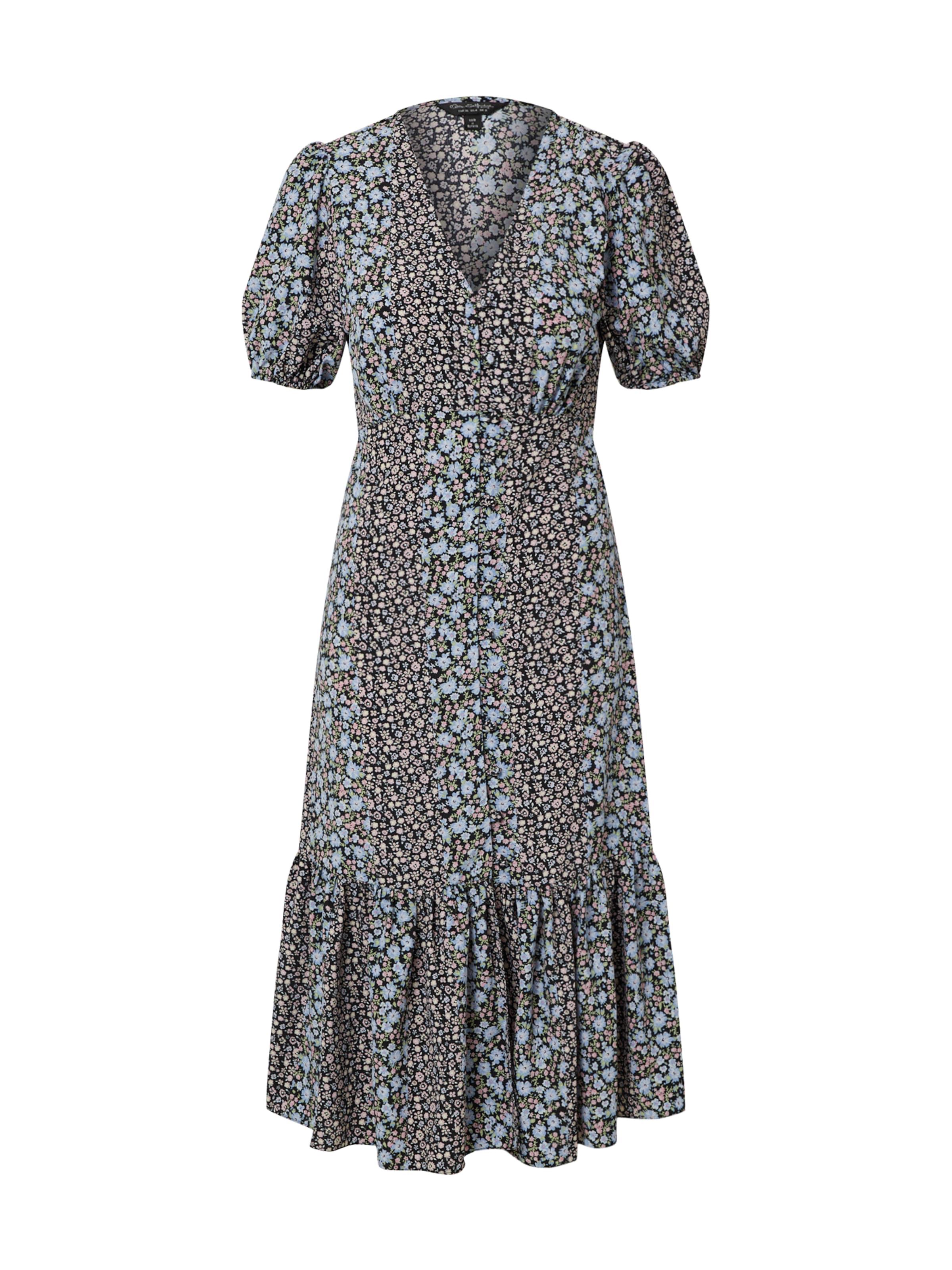 Miss Selfridge Kleid 'SPLICED' in blau